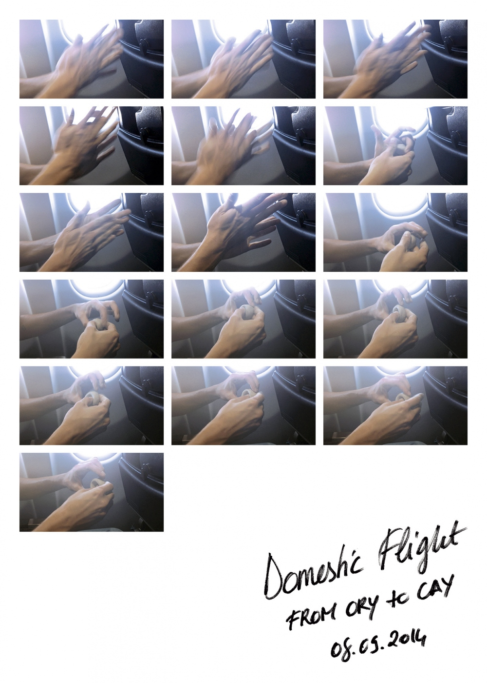 Domestic Flight (From ORY to CAY) — Maxime Bichon