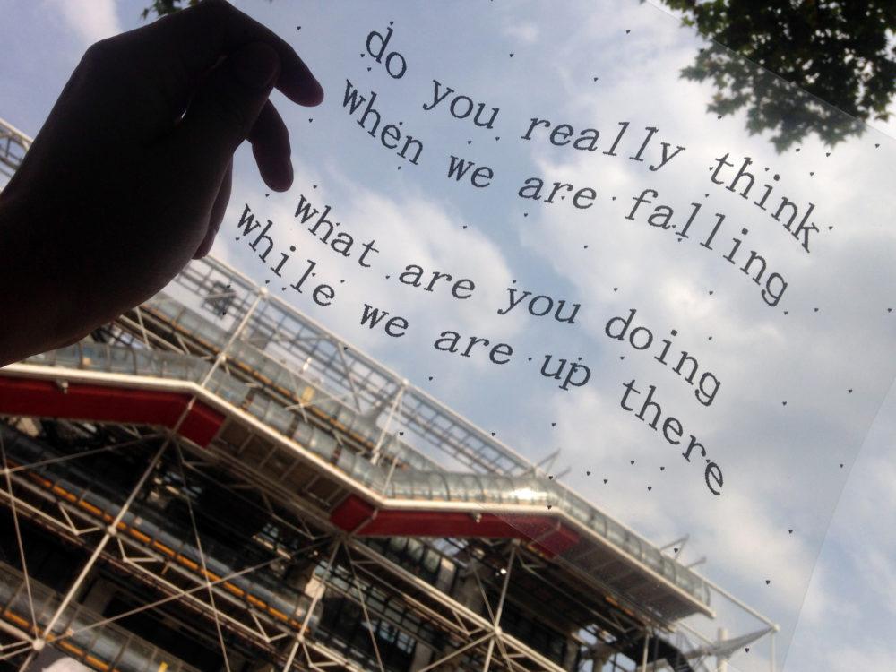 Do you really (Pompidou) — Maxime Bichon