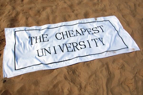 The Cheapest University — Maxime Bichon