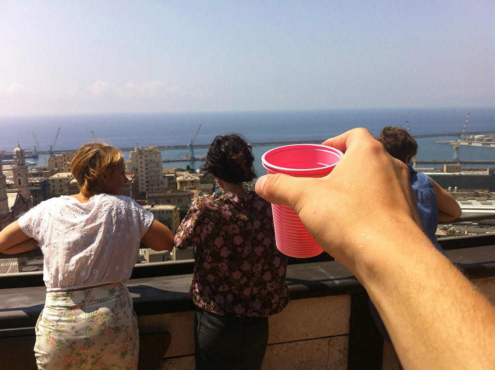 Tea from Somewhere Else (Genova) — Maxime Bichon